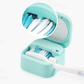 UVC Light Desinfection Tandenborstel Steriler Clean Brush Box (Groen)
