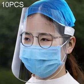 10 PCS anti-speeksel Splash anti-spugen anti-mist anti-olie transparant masker gezicht schild