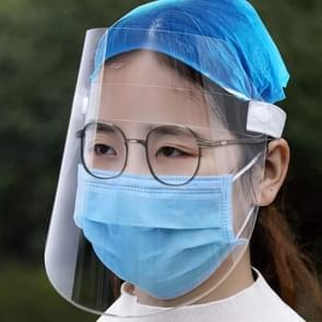 Anti-Speeksel Splash Anti-Spitting Anti-Fog Anti-Oil Transparant Masker Face Shield