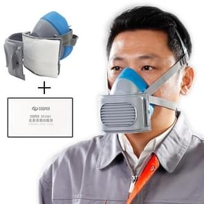 CP-3600 Industriële zelfzuiging KN95 Filtering Respirator Dustproof Mask PM2.5 Antivirus Anti-fog Half Face Mask met 20 PCS KN95 Filterpads