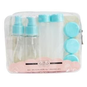 F3766 Travel Subpackage Cosmetics Bottles Kit(Blue)