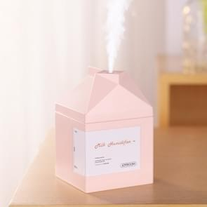 JOYROOM JR-CY269 melk doosvorm stille luchtbevochtiger  water tank inhoud: 260mL (roze)