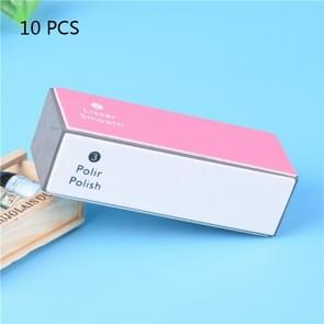 10 PCS spons nagelvijl Buffers vier polijstmachine blok  Manicure Tool voor nagels en teennagels