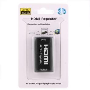 Mini 2160P Full HD HDMI 1.4b Amplifier Repeater, Support 4K x 2K, 3D(Black)