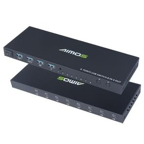 AIMOS AM-KM804 USB 8 In 4 Out Switch