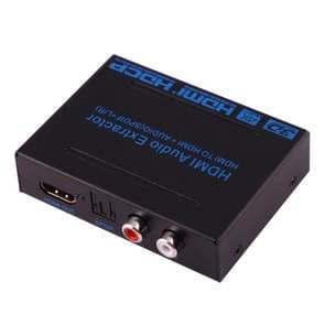 NEWKENG B12 HDMI naar HDMI + SPDIF + L/R Audio Extractor, ondersteuning 3D, 4Kx2K, 1080P nl ARC