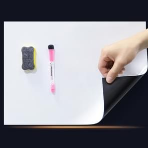 A3 PET Magnetic Soft Whiteboard Message Board Koelkast magneet  Grootte: 29 7 cm x 42cm
