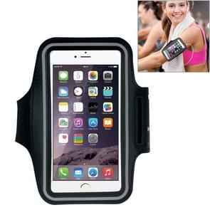 HAWEEL Sport Armband Case with Earphone Hole & Key Pocket, For iPhone XS, iPhone XS Max, iPhone X, iPhone 8 Plus & 7 Plus, iPhone 6 Plus, Galaxy S9+ / S8+ / S6 / S5(Black)