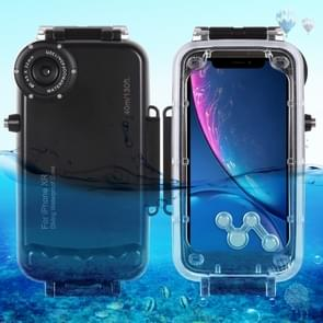 HAWEEL 40m/130ft Waterproof Diving Housing Photo Video Taking Underwater Cover Case for iPhone XR(Black)