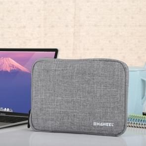 HAWEEL 7.9 inch Sleeve Case Zipper Briefcase Carrying Bag, For iPad mini 4 / iPad mini 3 / iPad mini 2 / iPad mini, Galaxy, Lenovo, Sony, Xiaomi, Huawei 7.9 inch Tablets(Grey)