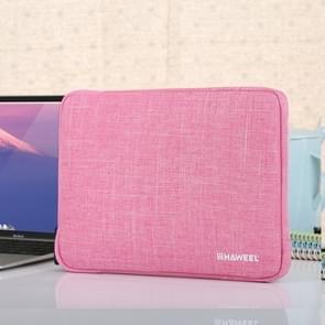 HAWEEL 9.7 inch Sleeve Case Zipper Briefcase Carrying Bag, For iPad 9.7 inch / iPad Pro 9.7 inch, Galaxy, Lenovo, Sony, Xiaomi, Huawei 9.7 inch Tablets(Pink)