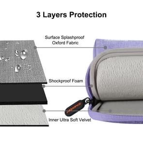 HAWEEL 9.7 inch Sleeve Case Zipper Briefcase Carrying Bag, For iPad 9.7 inch / iPad Pro 9.7 inch, Galaxy, Lenovo, Sony, Xiaomi, Huawei 9.7 inch Tablets(Purple)
