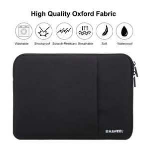 [UAE Stock] HAWEEL 11 inch Sleeve Case Zipper Briefcase Carrying Bag, For Macbook, Samsung, Lenovo, Sony, DELL Alienware, CHUWI, ASUS, HP, 11 inch and Below Laptops / Tablets(Black)