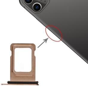 SIM-kaartlade voor iPhone 11 Pro / 11 Pro Max(Goud)