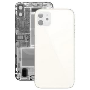 Glass Battery Back Cover for iPhone 11(White)