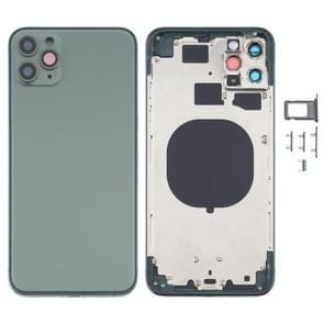 Achterkant behuizing cover met uiterlijk Imitatie van de iPhone 12 voor de iPhone 11 Pro Max (Groen)