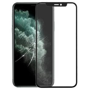 Voorkant scherm Outer glass lens voor iPhone 11 Pro (zwart)