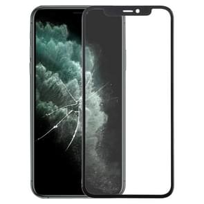 Front Screen Outer Glass Lens + OCA Optically Clear Adhesive for iPhone 11 Pro Max (Black)