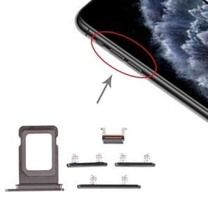 SIM-kaart lade + Zijkleutel voor iPhone 11 Pro/11 Pro Max (groen)