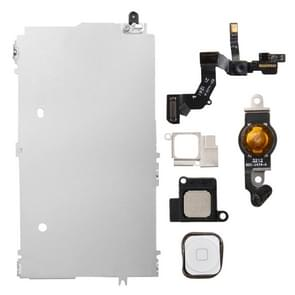 6 in 1 for iPhone 5 LCD Repair Accessories Part Set(White)
