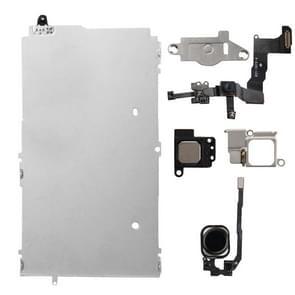 6 in 1 voor iPhone 5s LCD Repair Accessoires Part Set (Zwart)