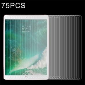 75 PCS For iPad Pro 10.5 inch 0.3mm 9H Surface Hardness Full Screen Tempered Glass Screen Protector