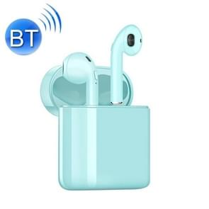 i20 Wireless Bullet Window Bluetooth 5.0 Headset(Mint Green)