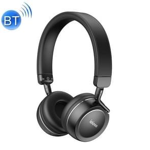 ipipoo EP-1 hoofd-gemonteerde draadloze Bluetooth headset stereo HiFi koptelefoon  ondersteuning handsfree  MFB sleutel (zwart)