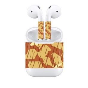 Creative Dazzle Wireless Earphones Charging Box Protective Film Dustproof Sticker for Apple AirPods