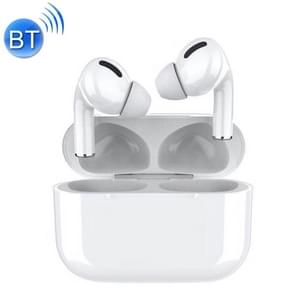TWS Macaron Bluetooth 5.0 Touch Bluetooth Earphone with Charging Box  Support HD Calling & Siri & Popup Pairing & Renaming Bluetooth & Location Search(White)