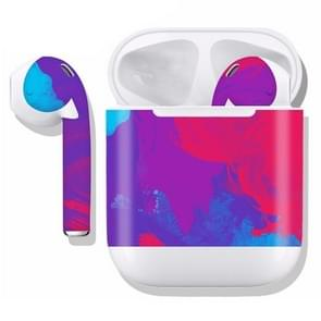 DRAP-504 Airpods Earphones Full Coverage Sticker Earphone Box Anti-lost Protective Film
