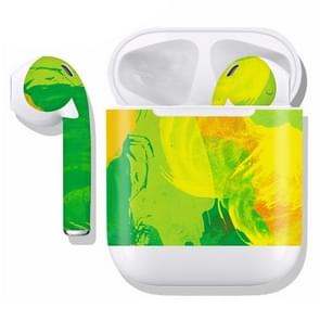 DRAP-505 Airpods Earphones Full Coverage Sticker Earphone Box Anti-lost Protective Film