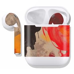 DRAP-506 Airpods Earphones Full Coverage Sticker Earphone Box Anti-lost Protective Film