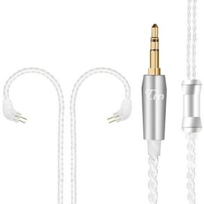 TRN Silver Plated Upgrade Cable Headphones Cable with 0.78mm 2 Pins Connection for TRN V10 V20 Earphone