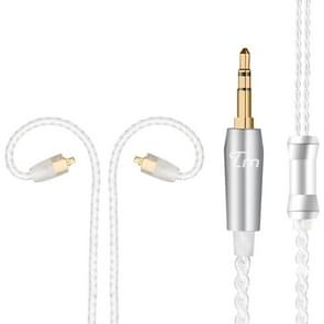 TRN Silver Plated Upgrade Cable Headphones Cable with MMCX Connection for TRN V10 V20 Earphone