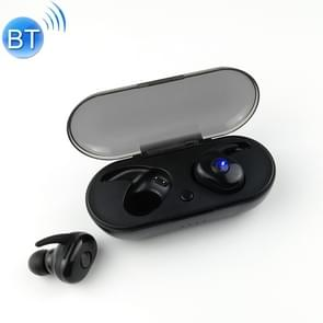L11 TWS Bluetooth 5 0 draadloze headset met Oplaaddoos (zwart)