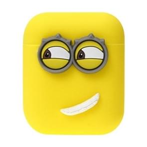 Wireless Earphones Silicone Storage Case Despicable Me Style Split Type Earphones Case for Airpods
