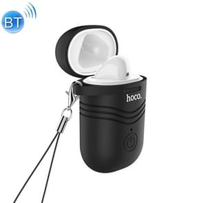 HOCO E39L Single Left Ear Bluetooth 5.0 Headset with Wireless Charging Box(Black)