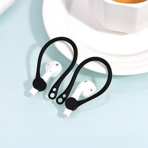 Wireless Headphones Lanyard Anti-lost Headphones for Apple AirPods 1 / 2 (Black)