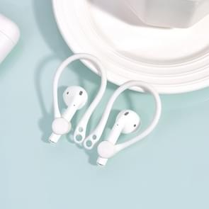 Draadloze koptelefoon Lanyard anti-lost hoofdtelefoon voor Apple AirPods 1/2 (wit)