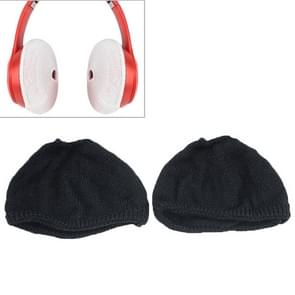 2 PCS Knitted Headphone Dustproof Protective Case for Beats Solo2 / Solo3(Black)