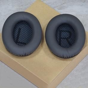 1 Pair Soft Earmuff Headphone Jacket with LR Cotton for BOSE QC2 / QC15 / AE2 / QC25