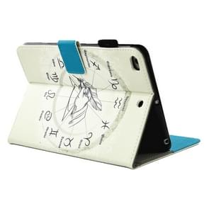 For iPad 9.7 (2018) & iPad 9.7 (2017) & Air 2 / Air Twelve Constellations Pattern Horizontal Flip Leather Case with Holder & Wallet & Card Slots & Sleep / Wake-up Function & Pen Slot