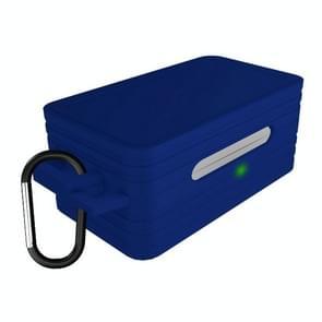 Voor Galaxy Buds Bluetooth Sports Oortelefoon Beschermhoes Anti-drop Siliconen Opslag Box (Blauw)