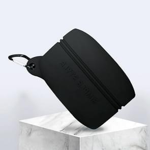 Voor Jabra Elite Active 65t Bluetooth oortelefoon beschermende case silicone anti-val waterdichte opbergdoos (zwart)