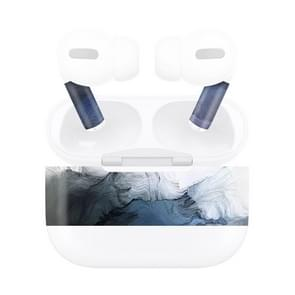 Voor AirPods Pro Ink Pattern Wireless Oortelefoon Beschermende Film Sticker