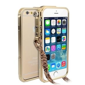 For iPhone 6 & 6s Aviation Aluminum Bumper Frame (Gold)