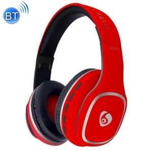 OVLENG S98 Bluetooth V2.1+EDR Wireless Stereo Noise Isolating Headset with Microphone, Support FM Radio & TF Card, For iPhone, Samsung, Huawei, Xiaomi, HTC and Other Smartphones, All Audio Devices(Red)