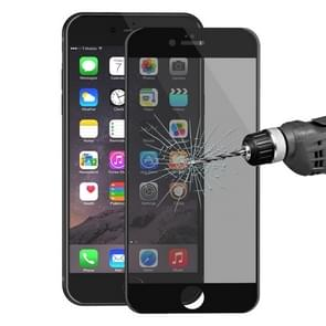 ENKAY Hat-Prince for iPhone 6 & 6s 0.26mm 9H Surface Hardness 3D Ultra-thin Carbon Fiber Privacy Anti-glare Full Screen Tempered Glass Protective Film(Black)