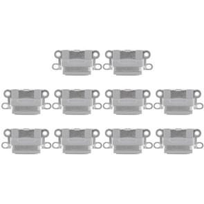 10 PCS Charging Port Connector for iPhone 6 / 6S(Grey)